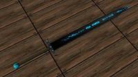 runed sword 3d model
