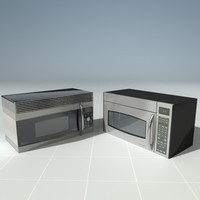 ge profile microwaves 3d max