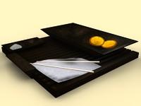 maya oriental tray