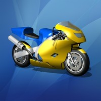 Toy Racing Motorcycle