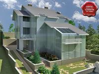 villa v11 c4d