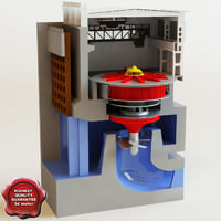 Hydroelectric power generator
