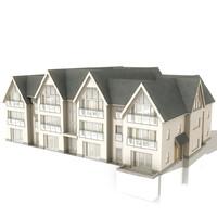 apartments 13 3d model