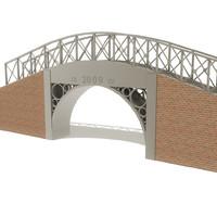 obj foot bridge