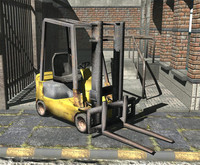 3d forklift games static