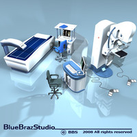 scanning equipment 3d model