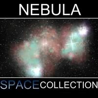 3d model space nebula
