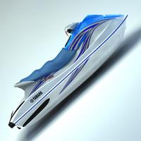 vx110 jetski 3d 3ds