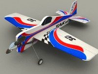 3d yak rc aircraft model