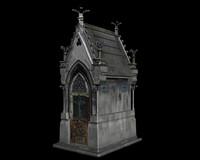 sepulture 3d model