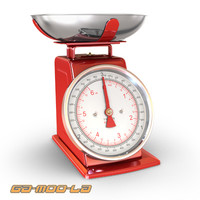 weighing scales 3d max
