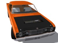 3d model dodge dart 68 mr