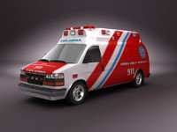 Emergency Ambulance Vol.5 painted