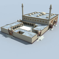 3d classic mosque