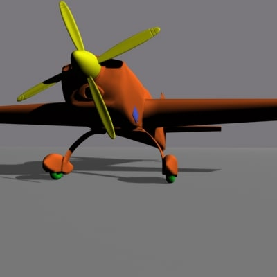 airplane extra 300s 3d model - Airplane Extra 300s.zip... by MonmeRay