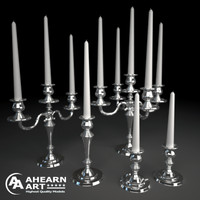 maya set candelabras