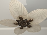 Ceiling Fan  - Palm Front Blades