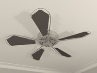 Ceiling Fan - Nautical Theme