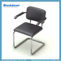 MB Upholstered Arm Cesca Chair