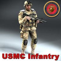 USMC_Infantry_3DModel