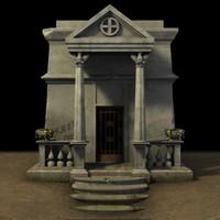 3D Crypt Model