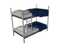 3d model bunk bed
