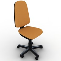 3d office chair model
