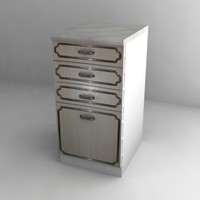 kitchen cupboard 3d model