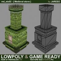Lowpoly stove - md_sto02.rar