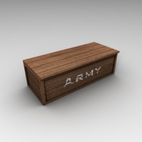 army crate box