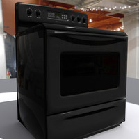 3ds max frigidaire range oven