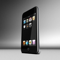 ipod touch 3d model