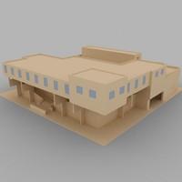 village city 3d model