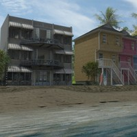 Beach Hotels Vray.zip