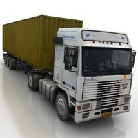 truck + trailer container