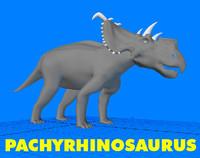 Pachyrhinosaurus Dinosaur