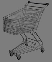 3d shop cart shoppingcart model