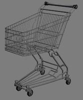 3d shop cart shoppingcart model