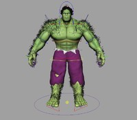 rigged incredible hulk ma