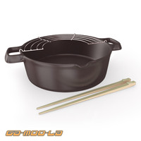 3ds max cooking bowl