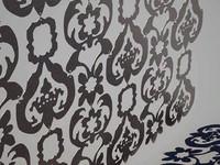 Curtain damasco