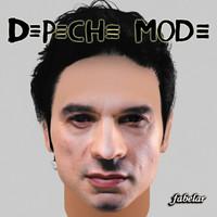 dave gahan depeche mode 3d model