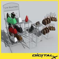 handbags 3d model