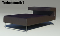 3d lowseat long leather model