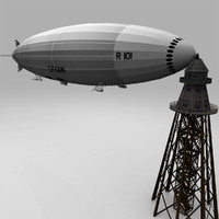 maya british r101 airship