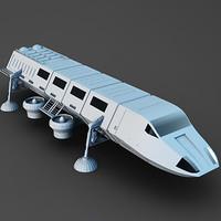 3d shuttle model