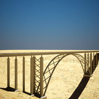 Desert  Train Bridge