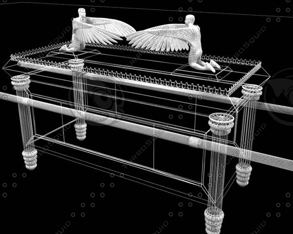 ark covenant 3d model - Ark of the covenant... by julianostorchi