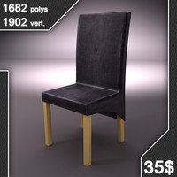 3d maydew leather chair