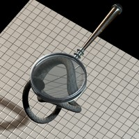 3dsmax magnifying glass